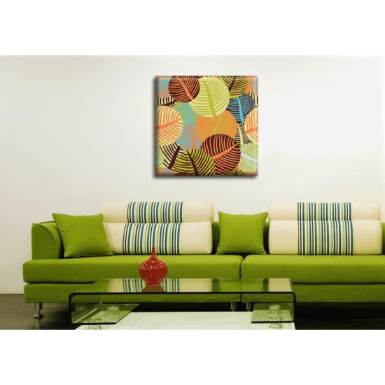 Картина Leaves Glozis D-005 50х50 см