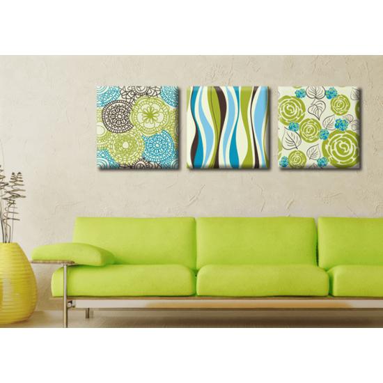 Картина Триптих Spring Glozis D-017 35х35 см х 3 Картины