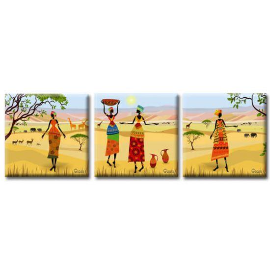Картина Триптих Oasis Glozis D-036 50х50 см х 3 Картины