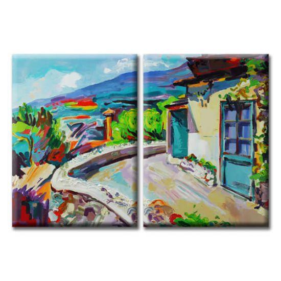 Модульная Картина Glozis Summer Time D-057 50х35 см х 2 Картины