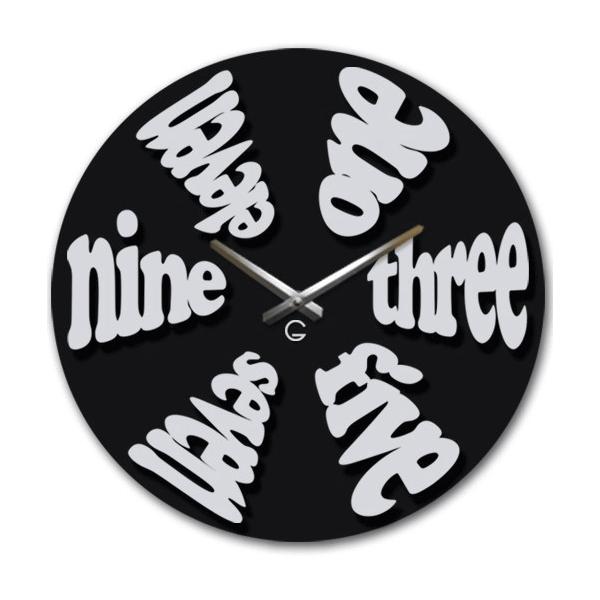 Настінний годинник Дизайнерські Idea A-046 40х40