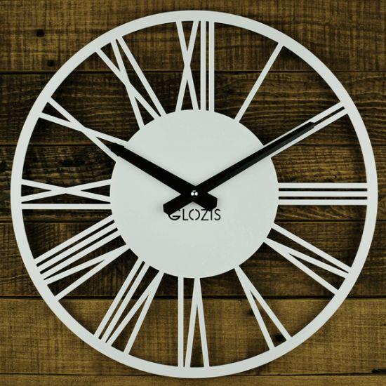 Настенные Часы Glozis Rome White B-023 35х35