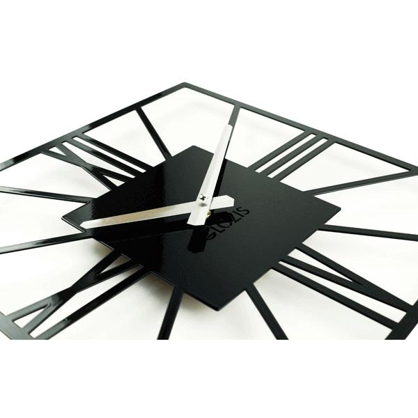 Настенные Часы Glozis New York Black B-024 35х35