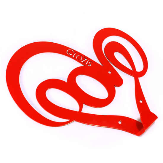 Вешалка настенная Glozis Love H-006 21х21 см
