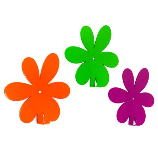 Вешалка настенная Крючок Glozis Flower Orange H-019 13х12см