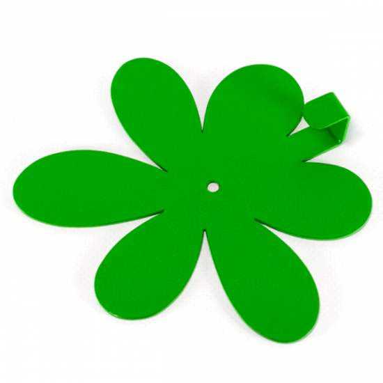 Вешалка настенная Крючок Glozis Flower Green H-020 13х12см