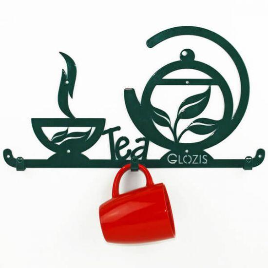 Вешалка настенная Glozis Tea H-028 40х22 см