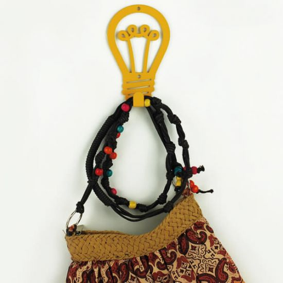 Вешалка настенная Крючок Glozis Lamp H-029 12х8см