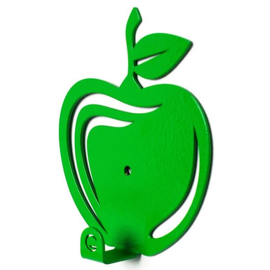 Вешалка настенная Крючок Glozis Apple H-030 11х10см