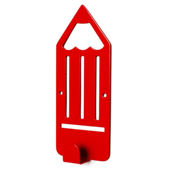 Вешалка настенная Детская Glozis Pencil Red H-039 16х7см