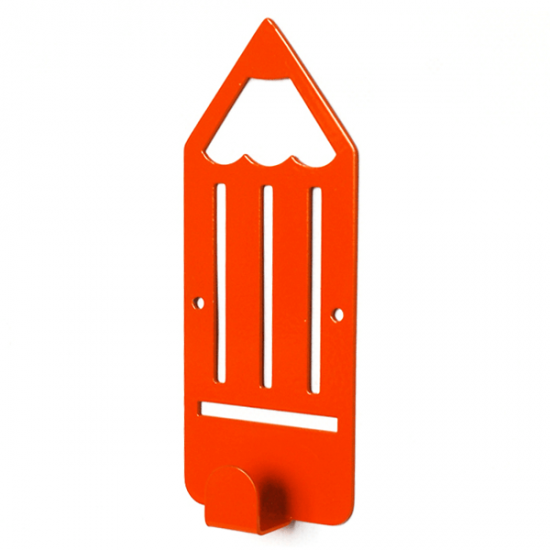 Вешалка настенная Детская Glozis Pencil Orange H-040 16х7см
