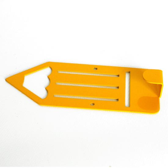 Вешалка настенная Детская Glozis Pencil Yellow H-041 16х7см