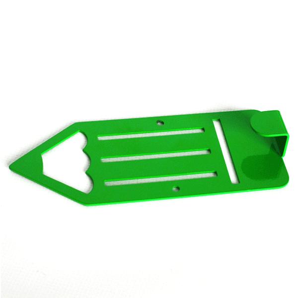 Вешалка настенная Детская Glozis Pencil Green H-042 16х7см