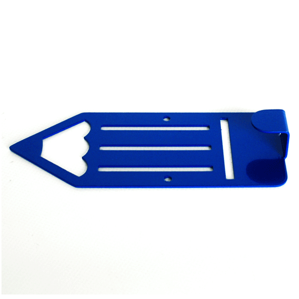 Вішалка настінна Дитяча Glozis Pencil Blue H-043 16х7см
