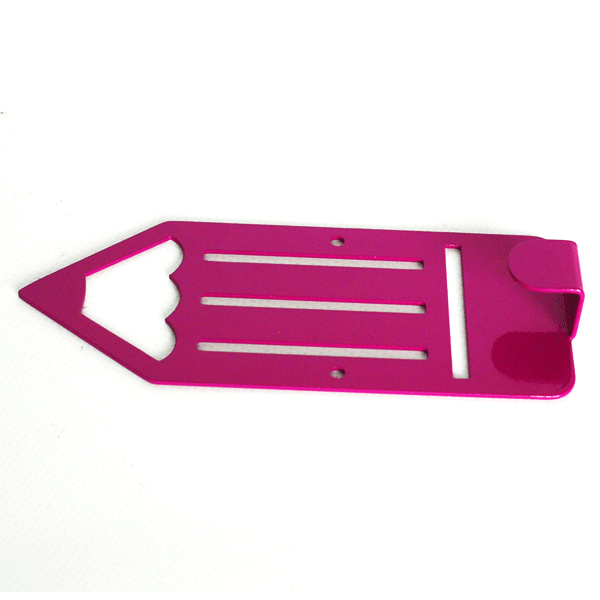 Вішалка настінна Дитяча Glozis Pencil Purple H-044 16х7см
