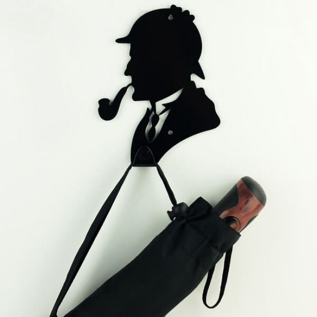 Вешалка настенная Крючок Glozis Holmes H-048 16х12см
