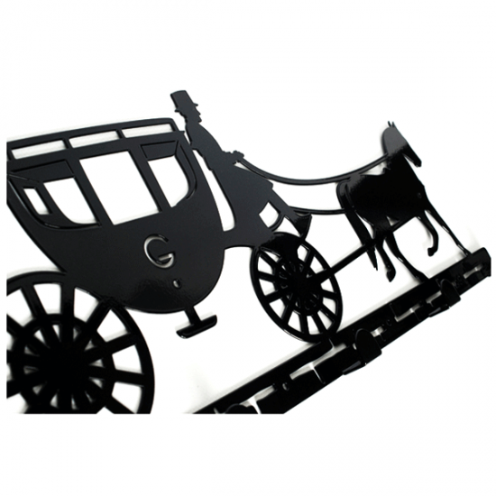 Вешалка настенная Glozis Carriage H-055 52х22см