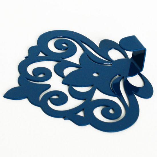 Вешалка настенная Крючок Glozis Ajur Blue H-061 11х10см