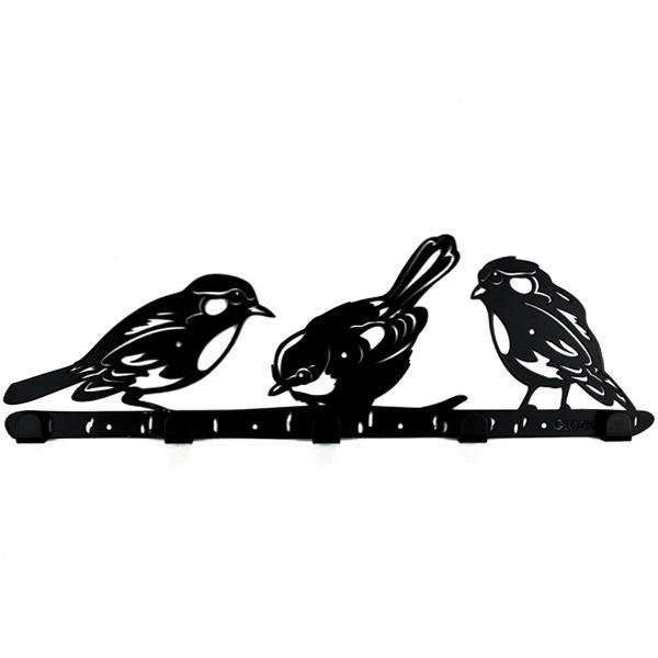 Вешалка настенная Glozis Bird...