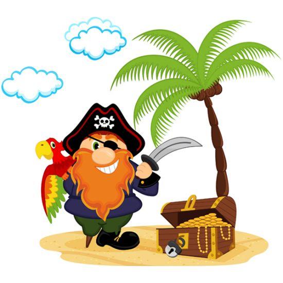 Виниловая Наклейка Glozis Pirate