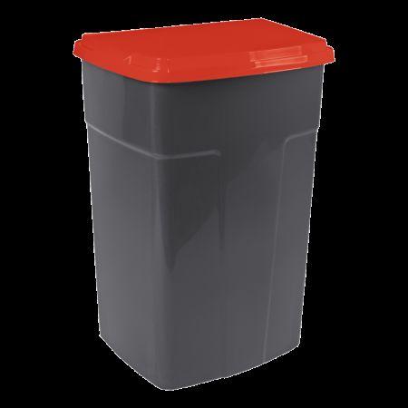 Бак мусорный 90л Темно-се�...