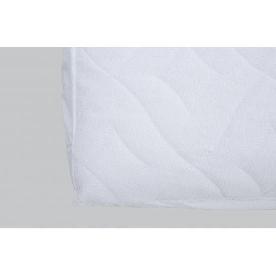 Наматрасник IGLEN непромокаемый с силиконизированным волокном 90х200 см Белый (90200BC)