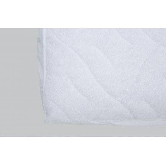 Наматрасник IGLEN непромокаемый с силиконизированным волокном 200х220 см Белый (200220BC)