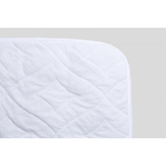 Наматрасник IGLEN непромокаемый с силиконизированным волокном 160х200 см Белый (160200AC)