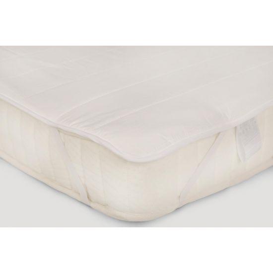 Наматрасник IGLEN непромокаемый с силиконизированным волокном 80х200 см Белый (80200S)