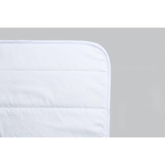 Наматрасник IGLEN непромокаемый с силиконизированным волокном 140х200 см Белый (140200S)