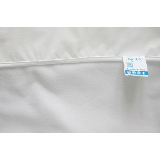 Наматрасник-простынь IGLEN непромокаемый 60х120 см Белый (60120L)