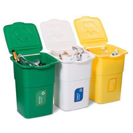Набор мусорных баков для...