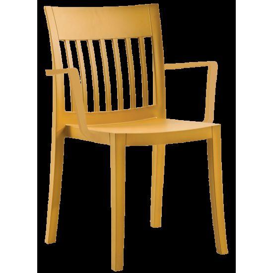 Кресло Papatya Eden-K тёмно-жёлтое