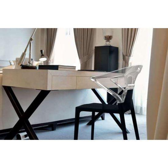 Кресло Papatya Ego-K черное сиденье, верх черный