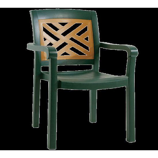 Кресло Papatya Адмирал зеленый