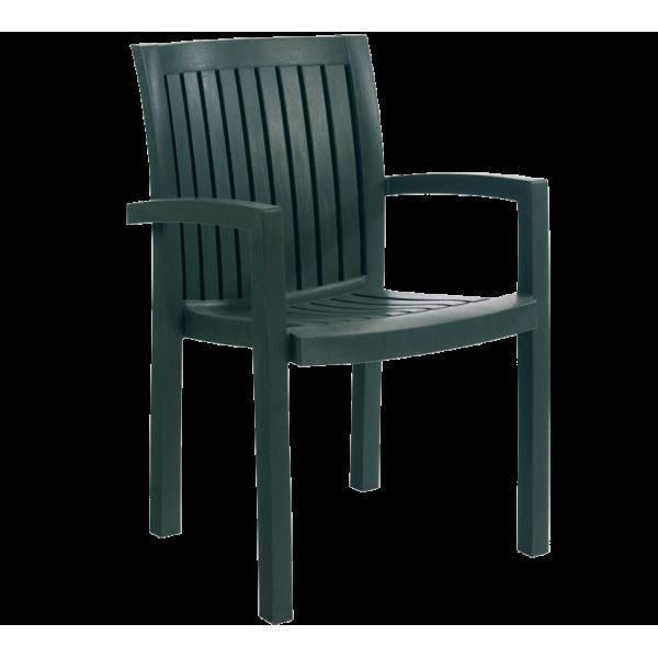 Кресло Papatya Нета зеленый