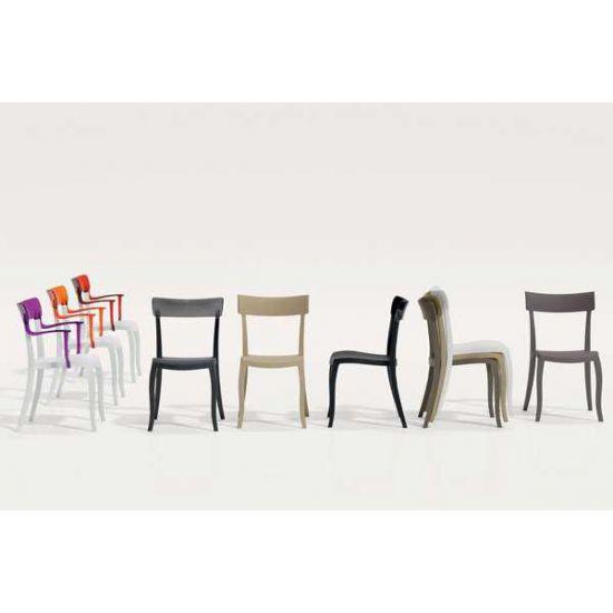 Кресло Papatya Hera-K черное сиденье, верх черный