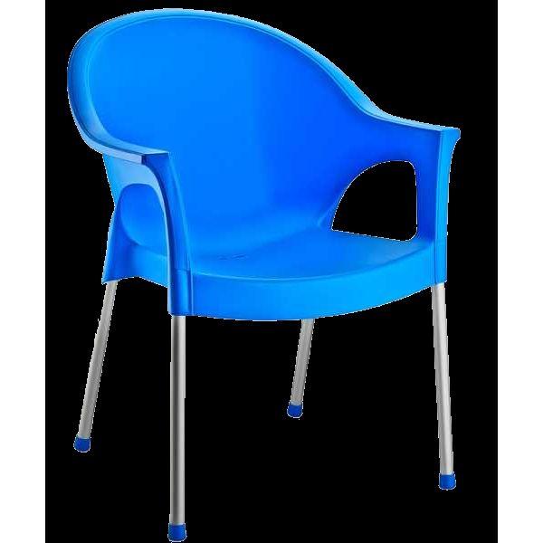 Кресло Irak Plastik Bergama голуб�...