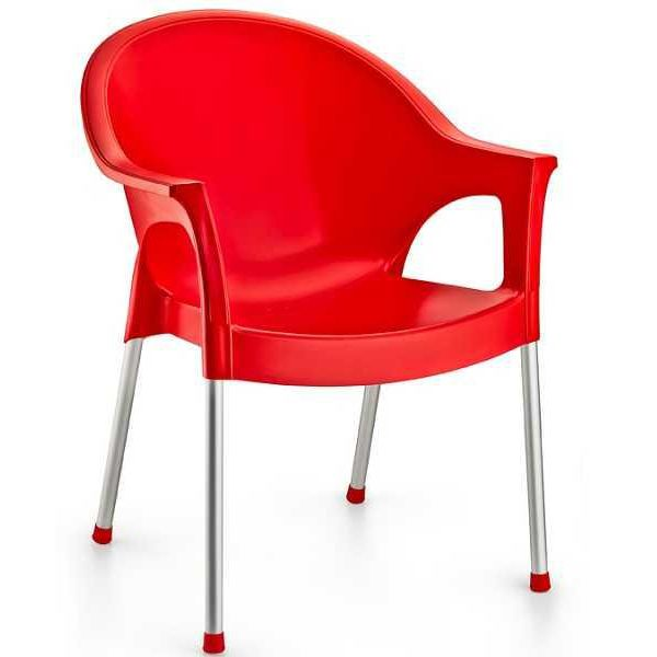 Кресло Irak Plastik Bergama красн�...
