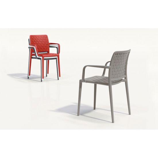 Кресло Papatya Fame-K красный