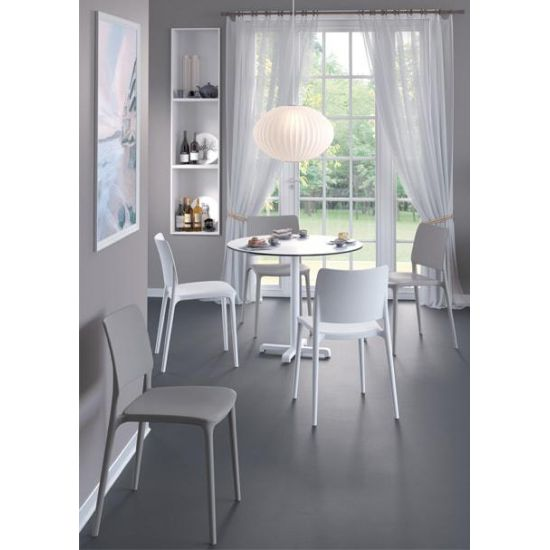Кресло Papatya Joy-K белое