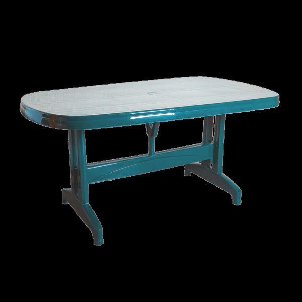 Стол Irak Plastik Oval 90x150 зелен�...