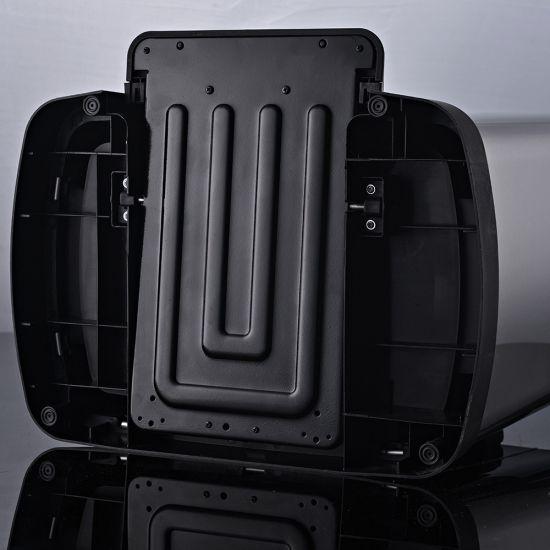 Ведро для мусора с педалью JAH 50 л металлик без внутреннего ведра