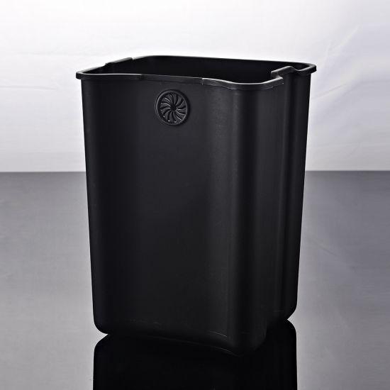 Ведро для мусора с педалью JAH 7 л металлик с внутренним ведром