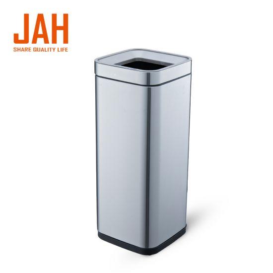 Ведро для мусора JAH 30 л металлик без крышки и внутреннего ведра
