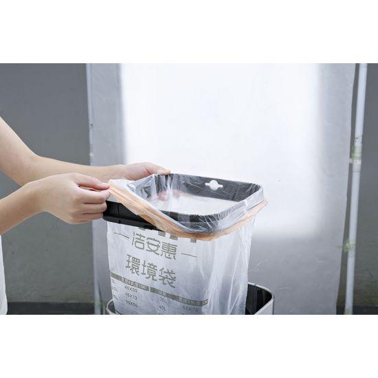 Ведро для мусора JAH 25 л круглое черный металлик без крышки и внутреннего ведра