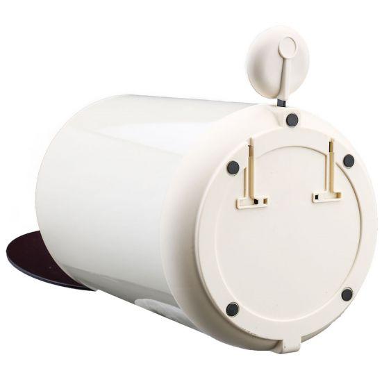 Ведро для мусора с педалью Nordic Style JAH 5 л круглое бежевый с внутренним ведром УЦЕНКА