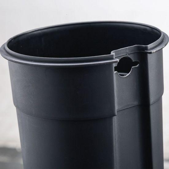 Ведро для мусора с педалью Nordic Style JAH 5 л квадратное белый с внутренним ведром