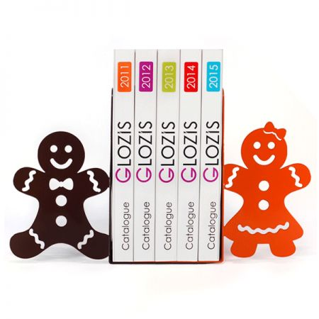 Упоры для книг Glozis Gingerbread...