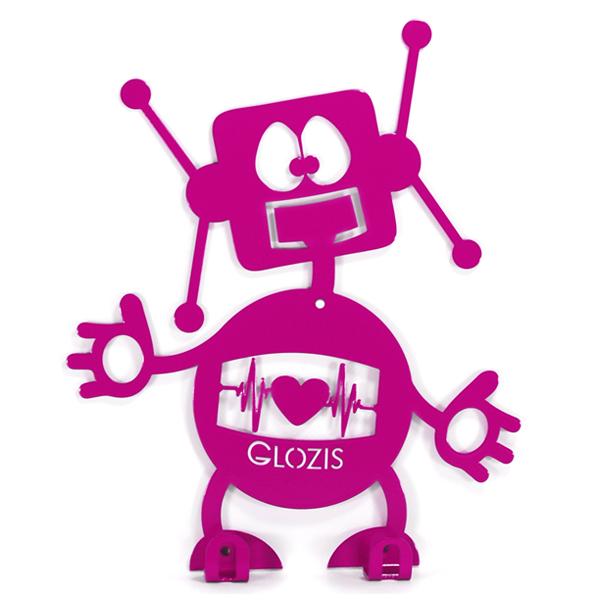 Вішалка настінна Дитяча Glozis Robot H-007 26х22см